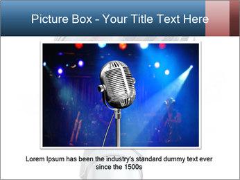 3D Microphone PowerPoint Template - Slide 16