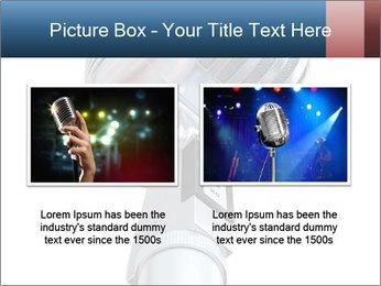 3D Microphone PowerPoint Template - Slide 18
