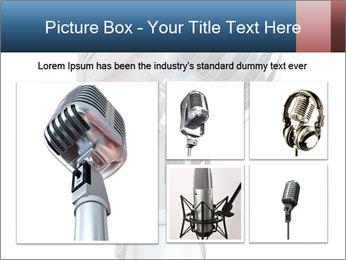 3D Microphone PowerPoint Template - Slide 19