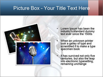 3D Microphone PowerPoint Template - Slide 20