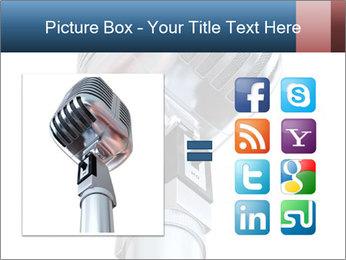 3D Microphone PowerPoint Template - Slide 21