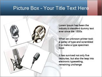 3D Microphone PowerPoint Template - Slide 23