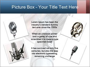 3D Microphone PowerPoint Template - Slide 24