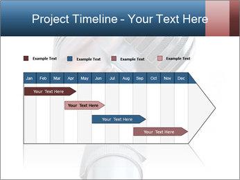 3D Microphone PowerPoint Template - Slide 25