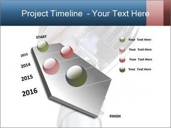3D Microphone PowerPoint Template - Slide 26
