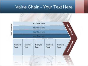 3D Microphone PowerPoint Template - Slide 27