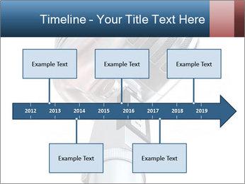 3D Microphone PowerPoint Template - Slide 28