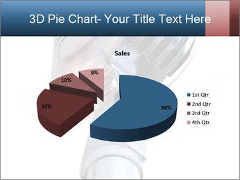 3D Microphone PowerPoint Template - Slide 35