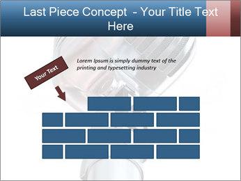 3D Microphone PowerPoint Template - Slide 46
