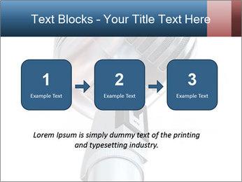 3D Microphone PowerPoint Template - Slide 71