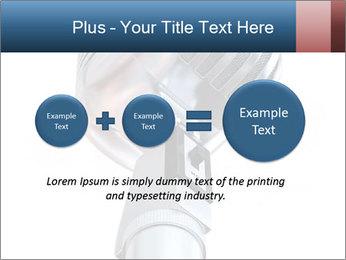 3D Microphone PowerPoint Template - Slide 75