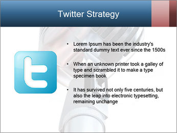 3D Microphone PowerPoint Template - Slide 9