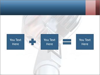 3D Microphone PowerPoint Template - Slide 95