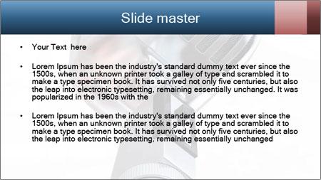 3D Microphone PowerPoint Template - Slide 2
