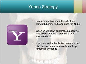 Real Model of Human Skull PowerPoint Templates - Slide 11