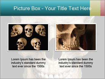 Real Model of Human Skull PowerPoint Templates - Slide 18