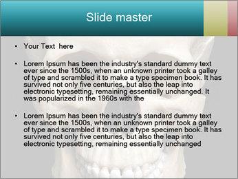 Real Model of Human Skull PowerPoint Templates - Slide 2