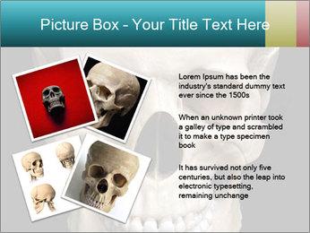 Real Model of Human Skull PowerPoint Templates - Slide 23