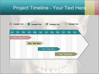 Real Model of Human Skull PowerPoint Templates - Slide 25