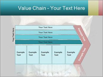 Real Model of Human Skull PowerPoint Templates - Slide 27