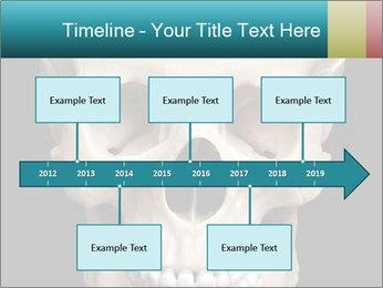 Real Model of Human Skull PowerPoint Templates - Slide 28