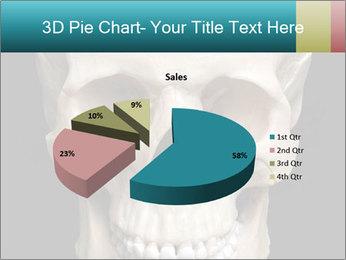 Real Model of Human Skull PowerPoint Templates - Slide 35