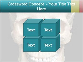Real Model of Human Skull PowerPoint Templates - Slide 39