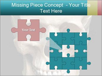 Real Model of Human Skull PowerPoint Templates - Slide 45