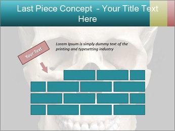 Real Model of Human Skull PowerPoint Templates - Slide 46
