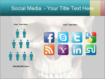 Real Model of Human Skull PowerPoint Templates - Slide 5