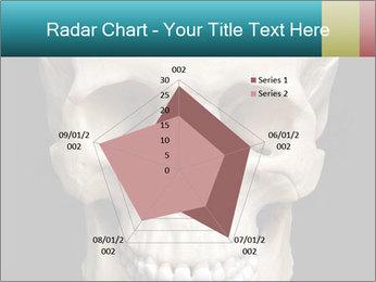 Real Model of Human Skull PowerPoint Templates - Slide 51