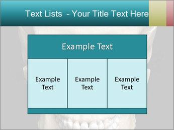 Real Model of Human Skull PowerPoint Templates - Slide 59