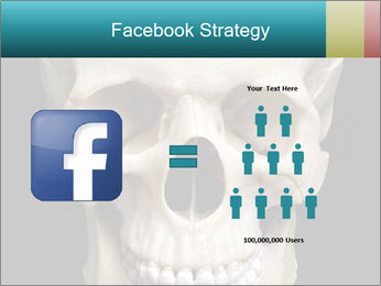 Real Model of Human Skull PowerPoint Templates - Slide 7