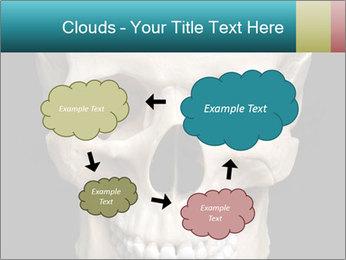 Real Model of Human Skull PowerPoint Templates - Slide 72