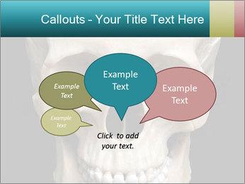 Real Model of Human Skull PowerPoint Templates - Slide 73