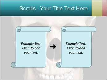 Real Model of Human Skull PowerPoint Templates - Slide 74
