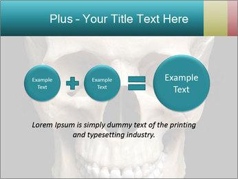 Real Model of Human Skull PowerPoint Templates - Slide 75