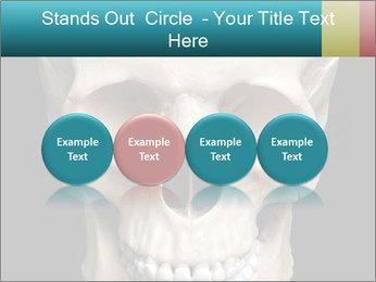 Real Model of Human Skull PowerPoint Templates - Slide 76