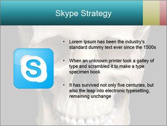 Real Model of Human Skull PowerPoint Templates - Slide 8