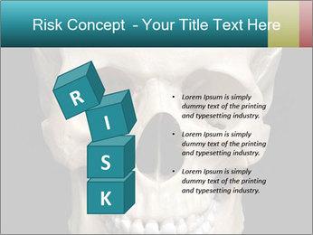 Real Model of Human Skull PowerPoint Templates - Slide 81