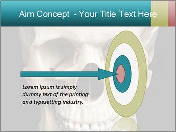 Real Model of Human Skull PowerPoint Templates - Slide 83