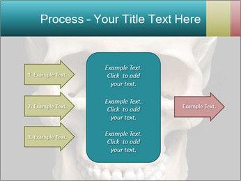 Real Model of Human Skull PowerPoint Templates - Slide 85