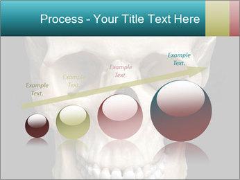Real Model of Human Skull PowerPoint Templates - Slide 87
