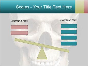 Real Model of Human Skull PowerPoint Templates - Slide 89
