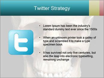 Real Model of Human Skull PowerPoint Templates - Slide 9
