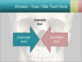 Real Model of Human Skull PowerPoint Templates - Slide 90