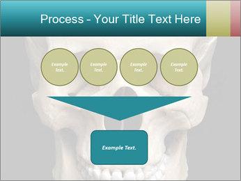 Real Model of Human Skull PowerPoint Templates - Slide 93
