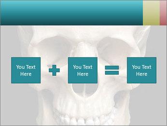 Real Model of Human Skull PowerPoint Templates - Slide 95