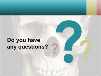 Real Model of Human Skull PowerPoint Templates - Slide 96