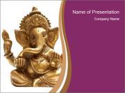 Ganesh Statue PowerPoint Templates